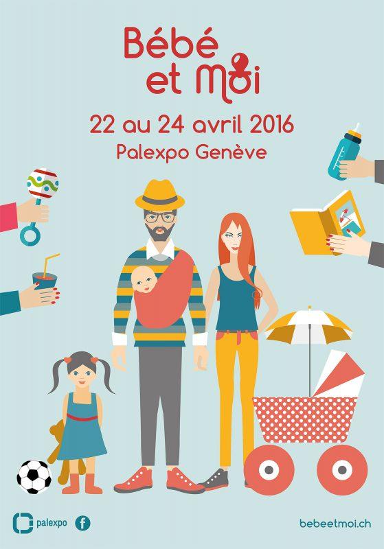 Salon Bebe & Moi – Geneve du 22 au 24 avril 2016